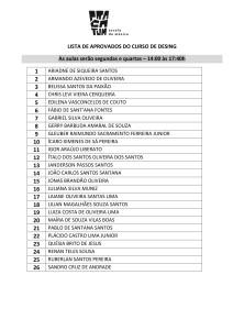 LISTA DE APROVADOS DO CURSO DE DESING 28MAR18-1