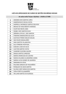 LISTA DE APROVADOS DO CURSO DE GESTÃO EM MIDIAS SOCIAIS 28MAR18-1