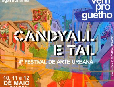CANDYALL E TAL – 4º Festival de Arte Urbana